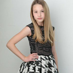 John Galliano Girls youth Gazette dress 8